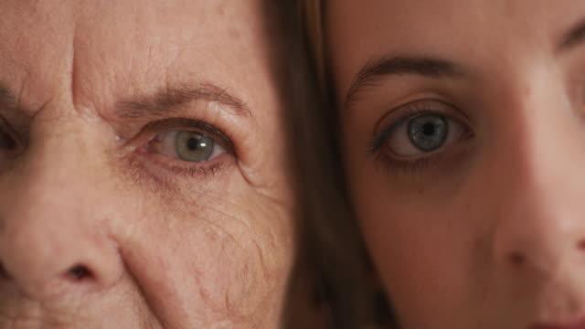 vídeos de stock, filmes e b-roll de vendo o mundo através de seus olhos - olhos fechados