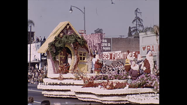 See's Candy Float / Haiti Float / City of San Gabriel Float