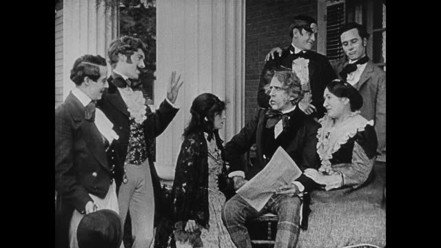 1860s Southern family reacts to the news of a possible secession