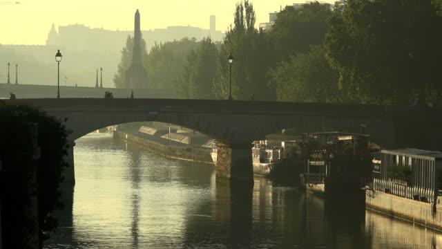 Seine River and Pont au Double, Ile de la Cite, Paris, France, Europe