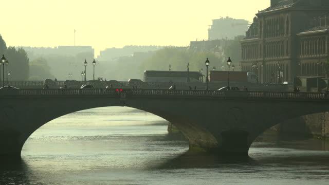 Seine River and Pont Neuf, Paris, France, Europe
