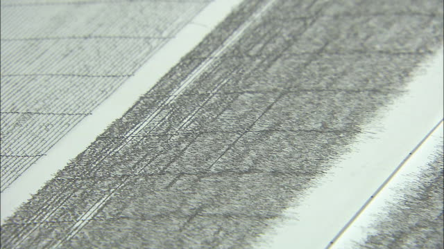 Seismic Waves Recorded On A Seismography