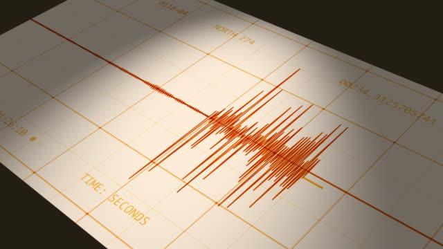 Seismograph (Computer Earthquake Data)
