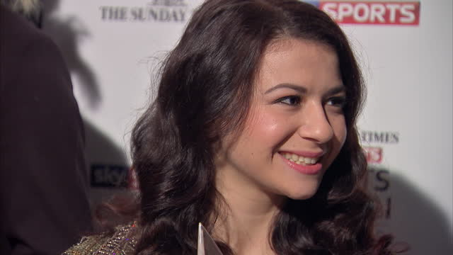 Selection of Britain's most impressive female athletes competing for the title of Sportswoman of the Year Interior shots of Claudia Fragapane Olympic...