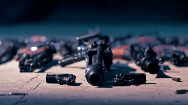 selection of weapon - gun control stock videos & royalty-free footage