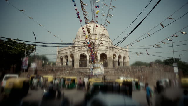 selective focus shots of temples, india - tinsel stock videos & royalty-free footage