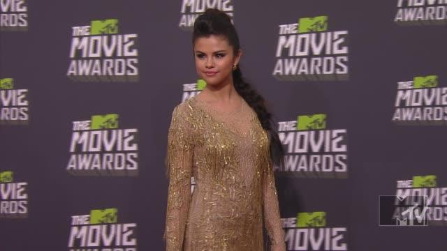 Selena Gomez at 2013 MTV Movie Awards Arrivals 4/14/2013 in Culver City CA