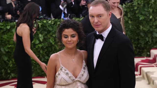 fashion the catholic imagination costume institute gala at the metropolitan museum of art on may 07 2018 in new york city - selena gomez stock videos & royalty-free footage