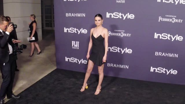 selena gomez at the 3rd annual instyle awards on october 23 2017 in los angeles california - selena gomez stock videos & royalty-free footage