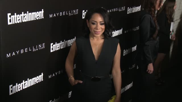 stockvideo's en b-roll-footage met selenis leyva at 2016 entertainment weekly screen actors guild party at chateau marmont on january 29, 2016 in los angeles, california. - entertainment weekly