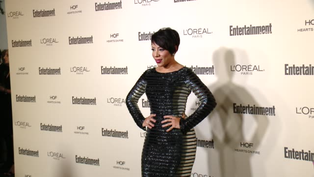 selenis leyva at entertainment weekly's pre-emmy celebration at fig & olive melrose place on september 18, 2015 in west hollywood, california. - エンターテインメント・ウィークリー点の映像素材/bロール