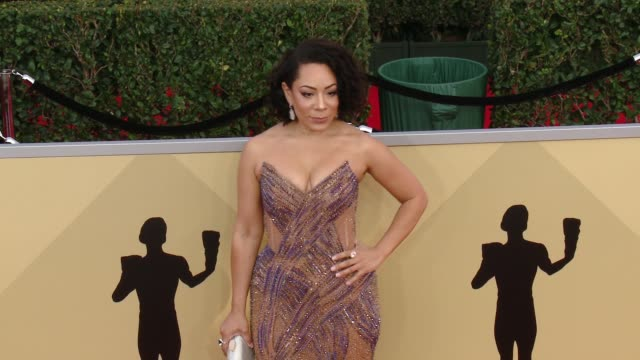 Selenis Leyva at the 24th Annual Screen Actors Guild Awards at The Shrine Auditorium on January 21 2018 in Los Angeles California