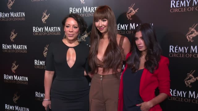 Selenis Leyva Jackie Cruz and Diane Guerrero at The House of Remy Martin and Actress Jackie Cruz celebrate launch of 2016 Circle of Centaurs at The...