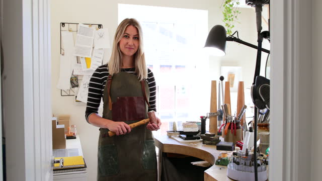 self made entrepreneur - workbench stock videos & royalty-free footage