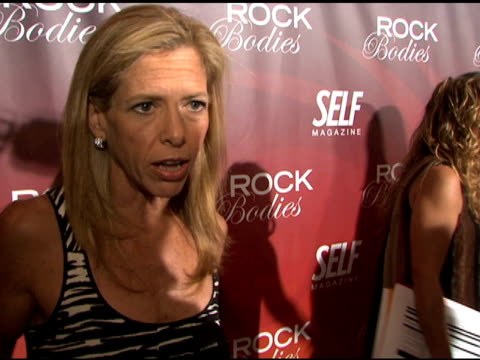 self magazine presents rock bodies new york ny 6/18/08 - event capsule stock videos & royalty-free footage