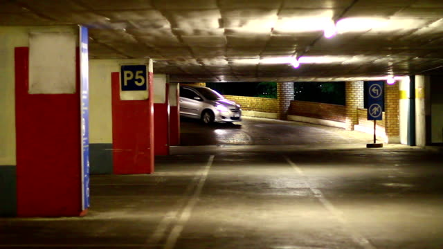 self parking garage structure - parking stock videos & royalty-free footage