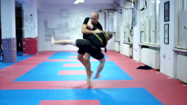 self-defence class. - martial arts stock videos & royalty-free footage