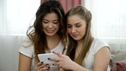 selfie creativity youth friends pastime girls