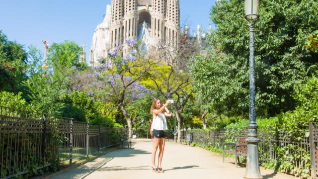 Selfie in the Sagrada Familia