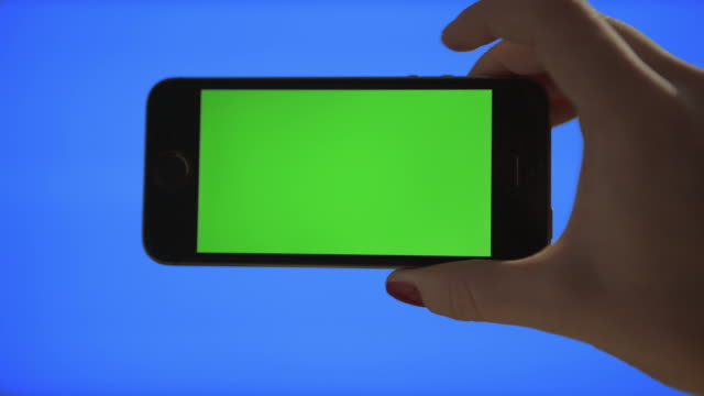 Selfie Self portrait Green screen and Blue screen keying