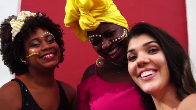 selfie to local latin america people - bogota stock videos & royalty-free footage