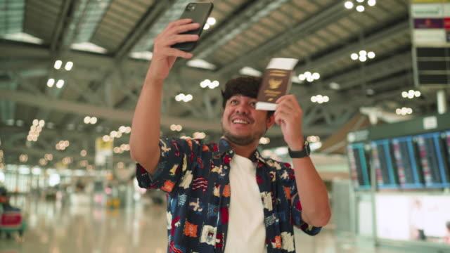 selfie - transportation building type of building stock videos & royalty-free footage