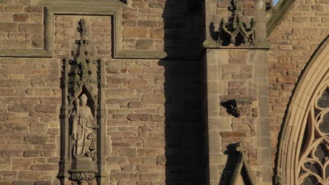 selfridges & st martin's church, birmingham, west midlands, england, united kingdom  - birmingham england stock videos & royalty-free footage