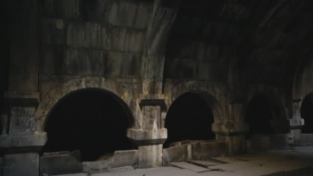 Selim Caravanserai, interior view of the building