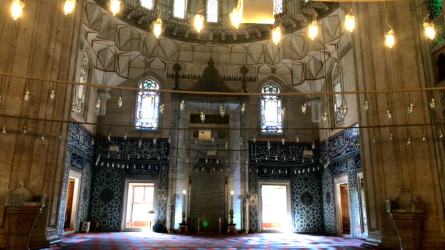 selimiye mosque - blue mosque stock videos and b-roll footage