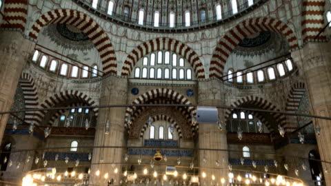 selimiye モスク - スルタンアフメト・モスク点の映像素材/bロール