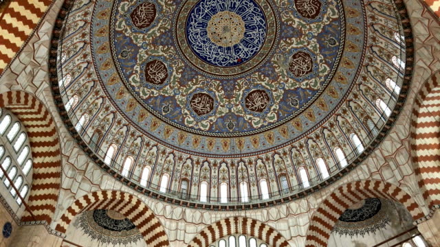 selimiye mosque - suleymaniye mosque stock videos and b-roll footage