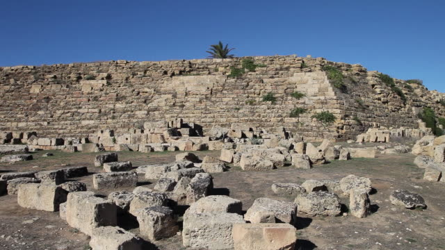 Selinunte, the Cyclopean retaining walls, in the eastern side of the Acropolis