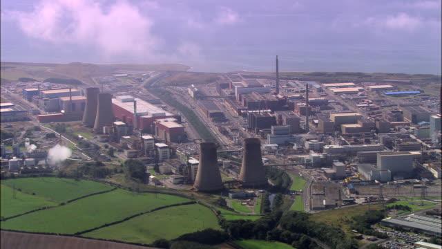 sellafield - sellafield nuclear power station stock videos & royalty-free footage