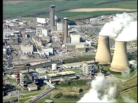 dayair views sellafield - sellafield nuclear power station stock videos & royalty-free footage