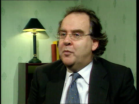 Selloff/Bonus row ITN INT Lord Falconer interview SOT There will be millions of pounds in extra hire charges if we don't hand them back but doing it...