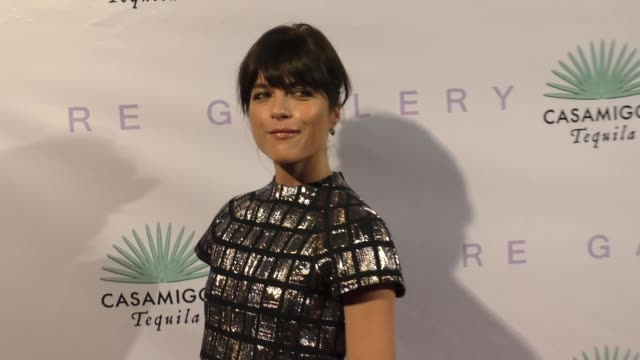 Selma Blair at the Brian Bowen Smith Metallic Life Opening Reception at De Re Gallery in West Hollywood in Celebrity Sightings in Los Angeles