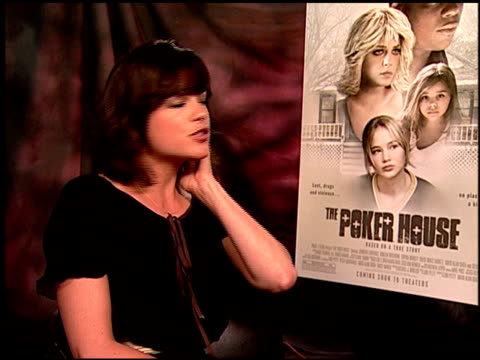 Selma Blair on her look in this film at the 'The Poker House' Junket at Los Angeles CA