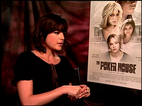 Selma Blair on how she chooses her roles at the 'The Poker House' Junket at Los Angeles CA
