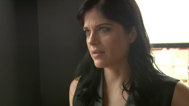 Selma Blair on Jordan Gelber 's character at the Dark Horse Interviews Venice Film Festival 2011 at Venice