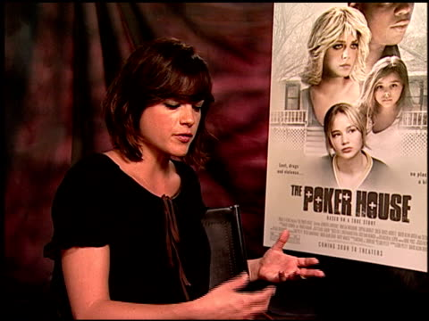 Selma Blair on playing a reallife character and how difficult it was playing this role at the 'The Poker House' Junket at Los Angeles CA