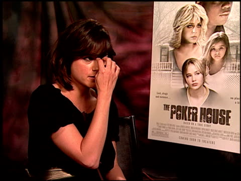 Selma Blair on the appeal of the film at the 'The Poker House' Junket at Los Angeles CA