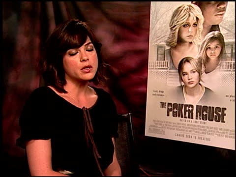 Selma Blair on the story of the film at the 'The Poker House' Junket at Los Angeles CA