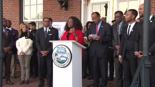 'Selma' movie premiere on January 18 2015 in Selma Alabama