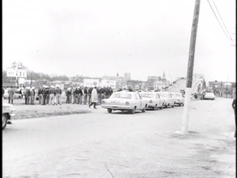selma policemen attack africanamericans during a march for voting rights in alabama - 1965 selma marches stock videos & royalty-free footage
