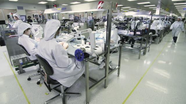 WS Semiconductor technicians at work / Bang Pa-In, Ayutthaya, Thailand