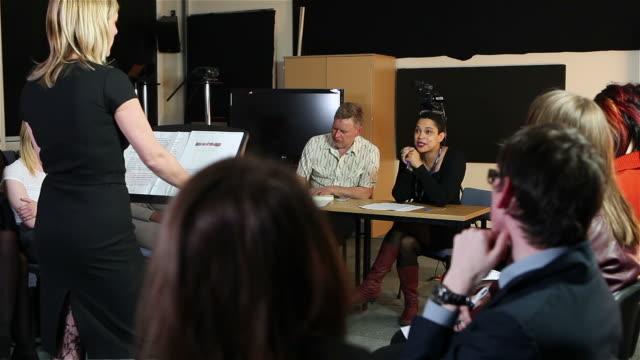 stockvideo's en b-roll-footage met seminar - lecture hall