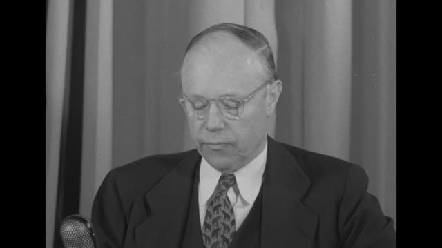 "sen. robert taft : [re the truman agenda being on the road to socialism] ""it is the road which mr. truman is urging upon us while he paints the... - socialism stock videos & royalty-free footage"