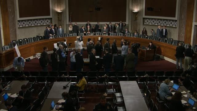Senate Armed Services Chairman John McCain of Arizona begins hearing on US policy in Afghanistan telling potential demonstrators that they would be...
