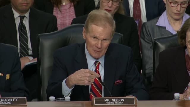 senate commerce committee ranking member bill nelson of florida tells facebook ceo mark zuckerberg at a joint hearing on data privacy that if he... - control stock videos & royalty-free footage