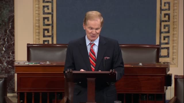 senate commerce committee ranking senator bill nelson of florida asks in debate on a fiveyear reauthorization of the federal aviation administration... - refund stock videos & royalty-free footage